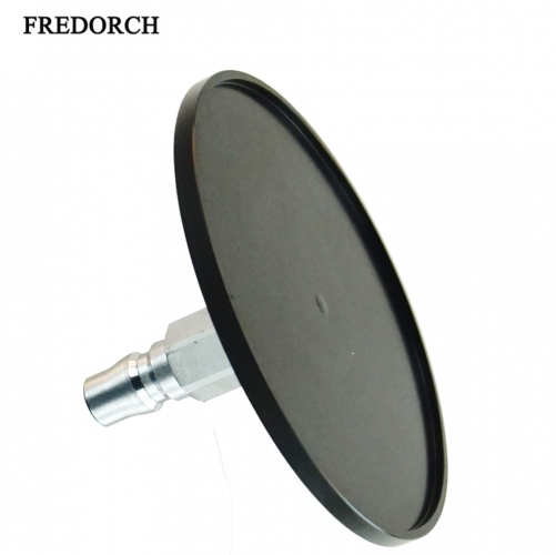 "Fredorch Aluminum alloy Suction Cup Adapter for Sex Machine with Quick Air Connector,3.86"" Diameter Large Suction Cup Fitting"